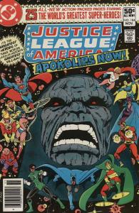 Justice League of America #184 VF; DC   save on shipping - details inside