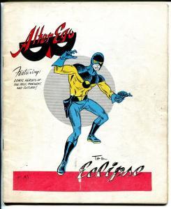 Alter-Ego #5 1962-1st Ronn Foss issue-Allen Weiss-Capt America-Larry Charet-VG