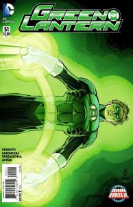New 52 Green Lantern #51 John Romita Jr Variant (DC, 2016) NM