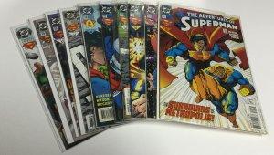 Adventures Of Superman 511-520 Nm Near Mint DC Comics