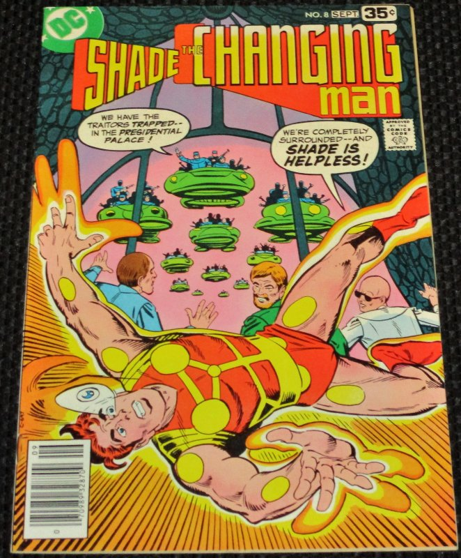 Shade, the Changing Man #8 (1978)