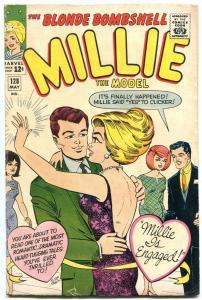 Millie The Model #128 1965-Millie Gets engaged- Paper Dolls VG+