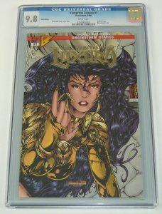 Vampress Luxura #1 CGC 9.8 gold edition variant - kirk lindo bad girl brainstorm
