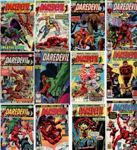Daredevil 108 thru 163 (12 book lot) NM 9.4  ++ ORIGINAL OWNER UNREAD COPIES! ++