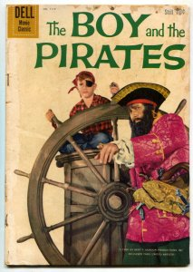 Four Color Comics #1117 1960-BOY AND THE PIRATES g/vg