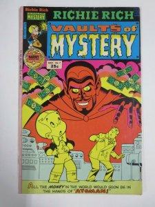 RICHIE RICH VAULTS OF MYSTERY #7 (Harvey, 11/1975) VERY GOOD (VG)