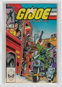 GI JOE (1982 MARVEL) #17 VG/FN A14066
