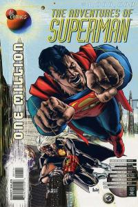 Adventures of Superman (1987 series) #1000000, NM (Stock photo)