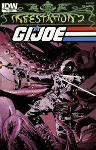 Infestation 2: G.I. Joe #2A VF/NM; IDW | save on shipping - details inside