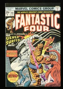 Fantastic Four #155 VF- 7.5 Silver Surfer! Marvel Comics