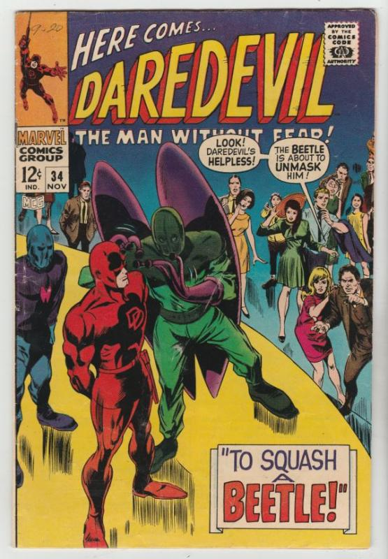 Daredevil #34 (Nov-67) VF/NM High-Grade Daredevil