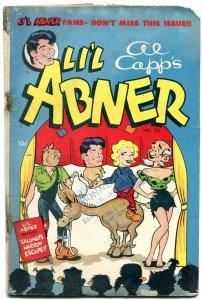 LI'L ABNER #75 1950-AL CAPP-HARVEY KURTZMAN ART ISSUE FR
