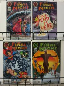FINAL NIGHT (1996) 1-4 death of Hal Jordan