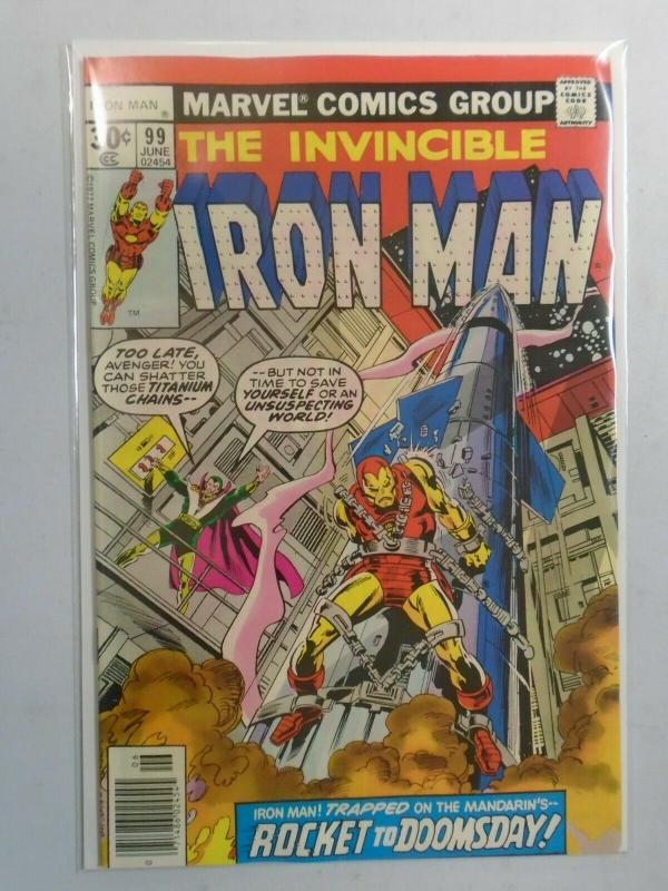 Iron Man #99 (1977 1st Series) 8.0/VF