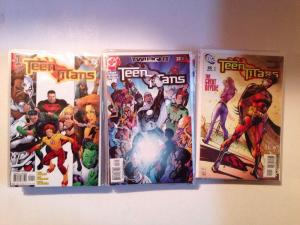 Teen Titans 1-100 63 Book Lot Set Run 1-15 17-42 52-66 69 72-76