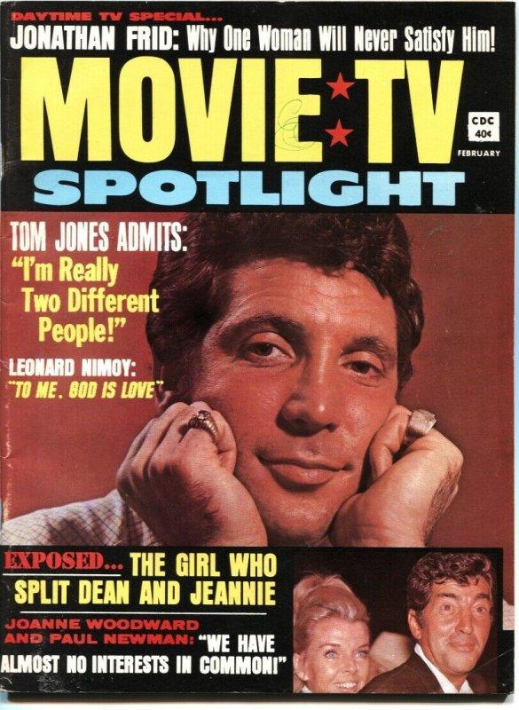 MOVIE TV SPOTLIGHT #1-1970-JONATHAN FRID-LEONARD NIMOY-PAUL NEWMAN