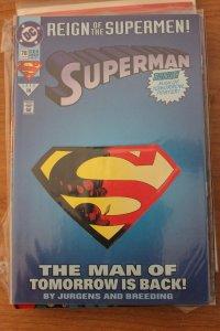 Superman 78 die cut  VF/NM