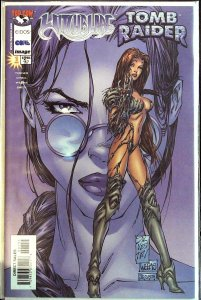 Witchblade Tomb Raider #1