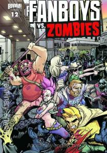 Fanboys Vs. Zombies #12B VF/NM; Boom!   save on shipping - details inside