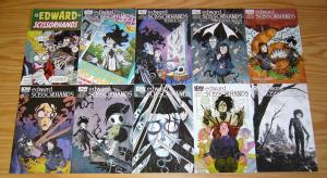 Edward Scissorhands #1-10 VF/NM complete series - subscription variants set lot