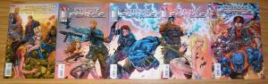 Stryke Force #1-5 VF/NM complete series - tyler kirkham - jay faerber 2 3 4 set