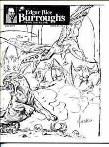 Edgar Rice Burroughs News Dateline #4 1995-Tarzan-comics-Joe Jusko-pulps-VF