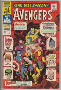 Avengers, the King-Size Annual #1 (Nov-67) NM/NM- High-Grade Avengers
