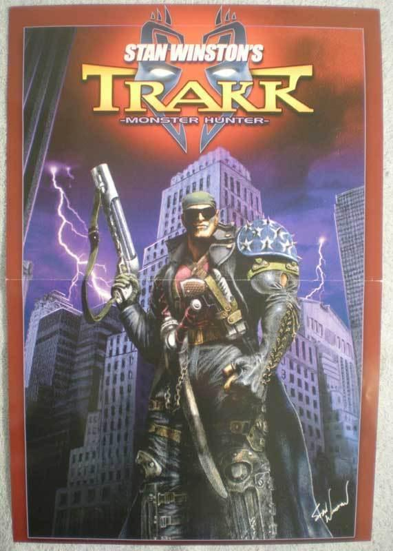 TRAKK MONSTER HUNTER Promo poster, 11x16, 2003, Unused, more Promos in store, b