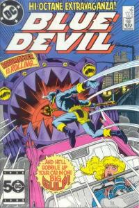 Blue Devil #21, VF (Stock photo)