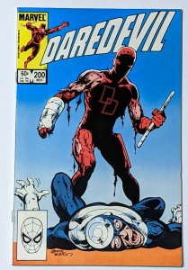 Daredevil #200 (Nov 1983, Marvel) NM- 9.2 Black Widow Bullseye & Kingpin app