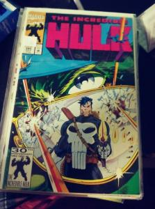 incredible hulk  # 395 1992 marvel punisher +las vegas+mob