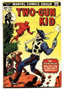 Two-Gun Kid #119 1974-Marvel-Jack Kirby-First PANTHER