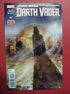 DARTH VADER #007 REGULAR  COVER NEAR MINT 9.4 MARVEL COMICS 2015 SERIES