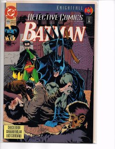 DC Comics Detective Comics #665 Batman; Knightfall Part 16 1st Print Jones Cover