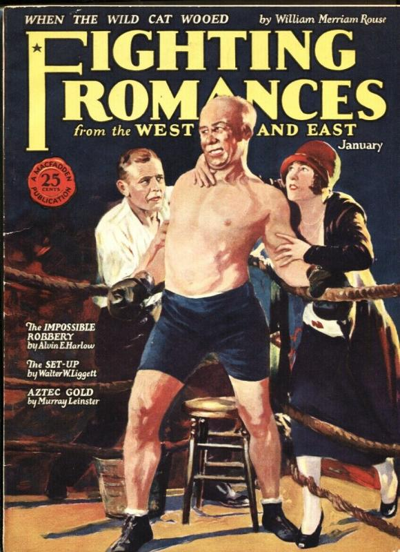 Fighting Romances From the West and East #3 1926-Rare esoteric pulp mag