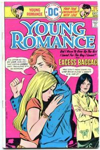 Young Romance #208 1975-DC COMICS rare last issue- vg