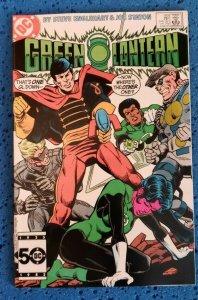 Green Lantern #189 (Jun, 1985) FN 6.0 DC Comics, Predator, Sonar