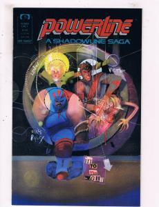 Powerline A Shadowline Saga #1 Epic Comics Comic Book DE25