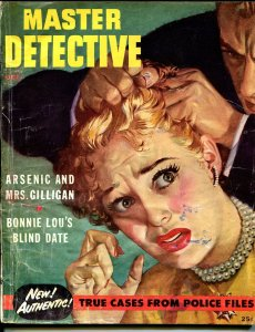 Master Detective-10/1952-pulp fiction-lurid cover-carnival crime-DL Champion