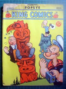 Popeye golden age 1939 King comics number 35
