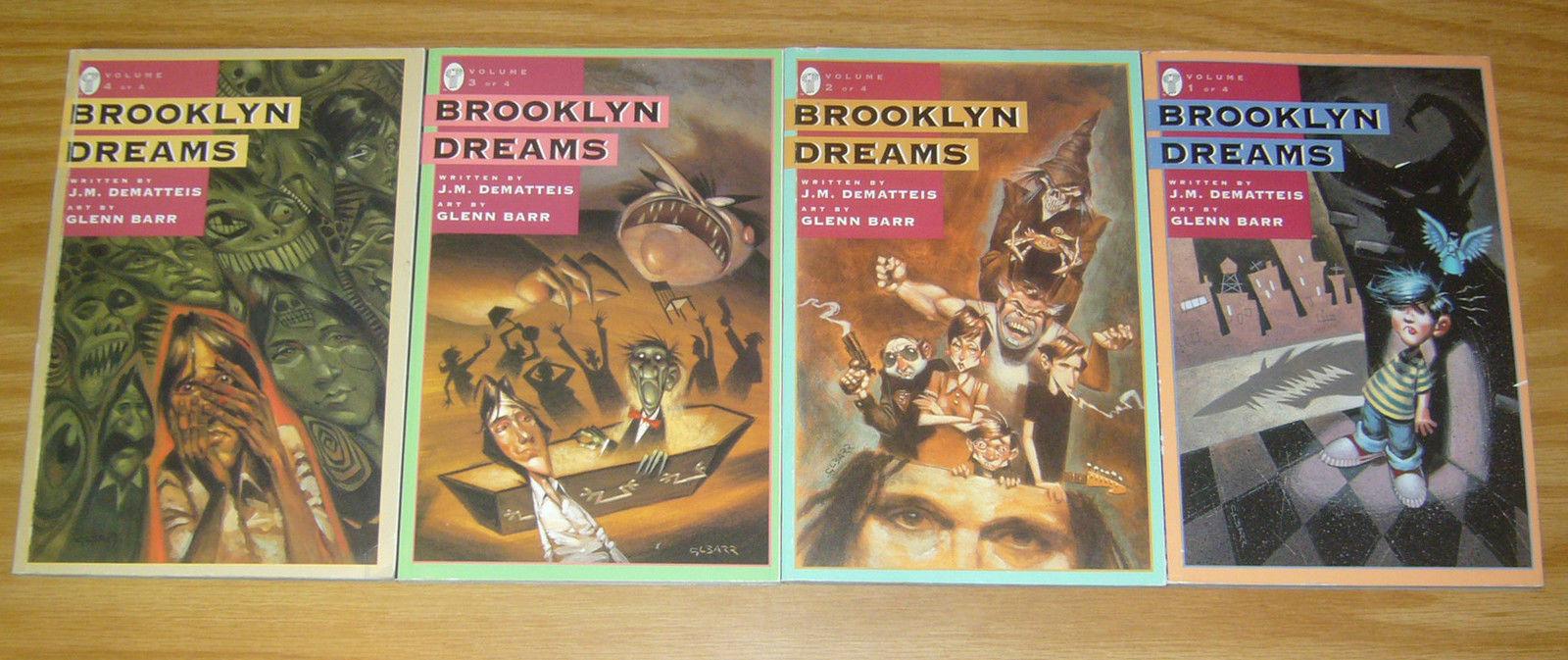 Brooklyn Dreams #1-4 VF/NM complete series - j m  dematteis