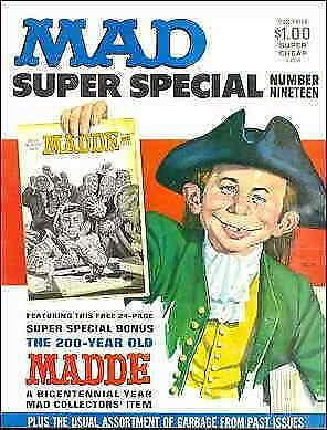 Mad Super Special #19 VG; E.C   low grade comic - save on shipping - details ins