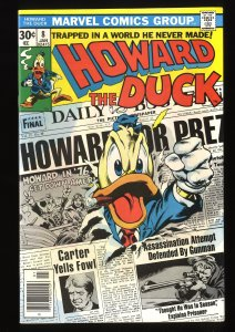 Howard the Duck #8 NM- 9.2