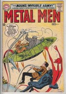 Metal Men #3 (Sep-63) VG/FN Mid-Grade Metal Men (Led, Tina, Tin, Gold, Mercur...