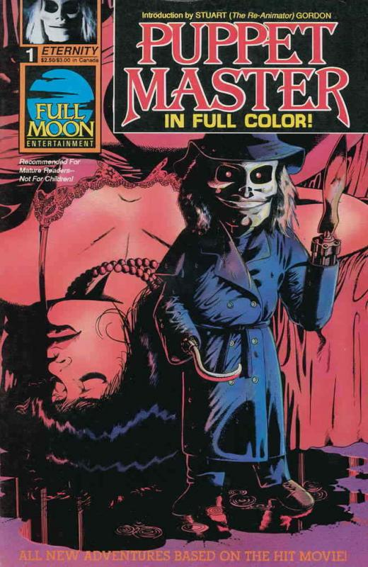 Puppet Master #1 FN; Eternity | save on shipping - details inside