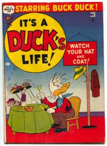 It's A Duck's Life  #8 1951 Atlas Funny Animal comic FN-