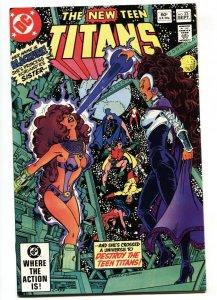 NEW TEEN TITANS #23 comic book-First full BLACKFIRE-NM-