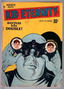 KID ETERNITY #14-1949-KIT CARSON-KING MIDAS-VG PLUS-GOLDEN AGE VG+