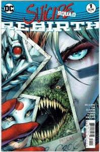 Suicide Squad: Rebirth #1 Harley Quinn NM