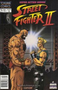 Street Fighter II (Tokuma Shoten) #4 VF; Tokuma Shoten | save on shipping - deta